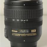 Nikon 18-70mm f/3.5-4.5G ED IF AF-S DX Nikkor Zoom Lens - Obiectiv DSLR Nikkor, Nikon FX/DX