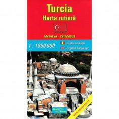 Amco Press Harta Turcia Rutiera - Harta Turistica