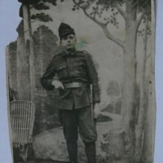 FOTOGRAFIE MILITAR ROMAN DIN PERIOADA REGALISTA - Fotografie veche