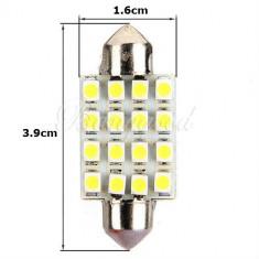 BEC MASINA cu LED pentru PLAFONIERA sau numar latime 39mm