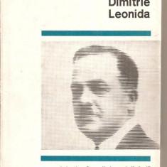 (C4013) DIMITRIE LEONIDA DE ION BASGAN, EDITURA STIINTIFICA, 1968 - Biografie