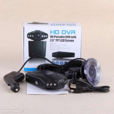 CAMERA VIDEO DVR HD AUTO 1920*1080 1080P 720P LEDURI IR MOD NOAPTE- NOU - Camera video auto