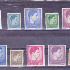 LP 212/1947 MIHAI UZUALE ; FORMAT MARE SI MIC - Timbre Romania