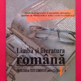 Limba si literatura romana - antologie de texte comentate pentru clasa a V-A - Manual scolar, Clasa 5