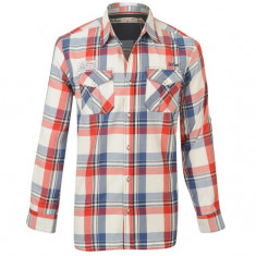 Camasa Lee Cooper - Red Check - Camasa barbati Lee Cooper, S, Maneca lunga, Multicolor
