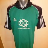 Tricou superb Adidas CLIMALITE; marime XL: 59.5 cm bust, 63.5 cm lungime - Tricou barbati Adidas, Culoare: Din imagine, Maneca scurta