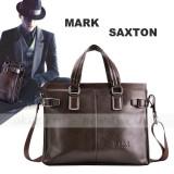 Geanta laptop (business lux) - Mark Saxton  din piele