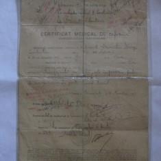 REDUCERE 10 LEI! CERTIFICAT MEDICAL DE REFORMA PENTRU GRADELE INFERIOARE DIN 1917