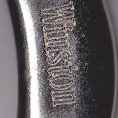 Bricheta Winston (fara gaz) model argintiu - Bricheta Zippo