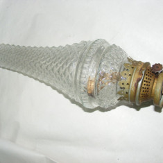 CAP LAMPA GAZ VECHI,STICLA LAMPA GAZ LAMPANT,VINTAGE