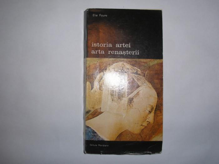 ISTORIA ARTEI ARTA RENASTERII ELIE FAURE