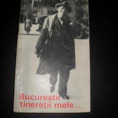 Ion Minulescu - Bucurestii tineretii mele... - Carte Monografie