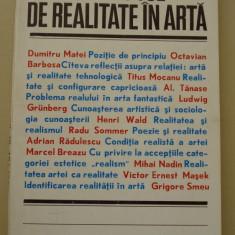 CONCEPTUL DE REALITATE IN ARTA
