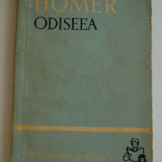ODISEEA - Homer (vol.1) - Carte mitologie