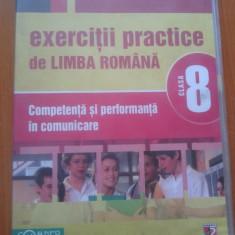 EXERCITII PRACTICE LIMBA ROMANA Competenta si performanta in comunicare Cls VII