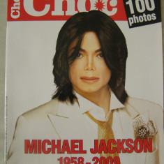 Revista CHOC nr. 6/2009 (lb. franceza) Michael Jackson (1958-2009) - Revista cadouri