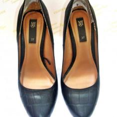 Vand pantofi de firma Mango - Pantof dama Mango, Negru, Marime: 37