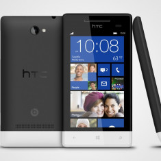 HTC Windows Phone 8S Black-White - Telefon mobil HTC 8S