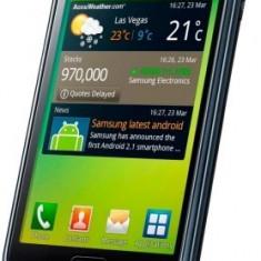 Samsung Galaxy S I9000 modificat - Telefon mobil Samsung Galaxy S, Negru, 8GB, Neblocat