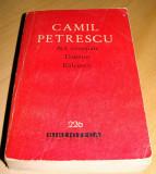 Act Venetian / Danton / Balcescu - Camil Petrescu, 1964