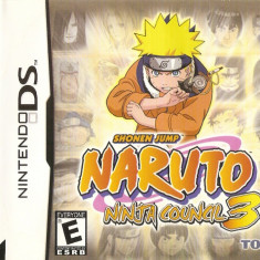 JOC NINTENDO DS SHOPEN JUMP NARUTO NINJA COUNCIL 3 ORIGINAL / STOC REAL / by DARK WADDER - Jocuri Nintendo DS, Actiune, 12+, Single player