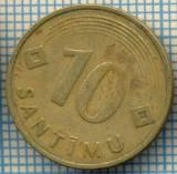 1729 MONEDA  - LETONIA(LATVIA) -  10 SANTIMU  - anul 1992 -starea care se vede