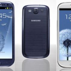 Samsung Galaxy S3 - Telefon mobil Samsung Galaxy S3, Quad core, 2 GB, 2G & 3G, Radio FM: 1