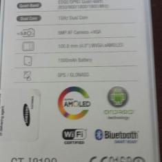 Samsung GALAXY S3 mini 8GB GT-I8190 culoare:White La Fleur nou + garantie - Telefon mobil Samsung Galaxy S3 Mini, Neblocat
