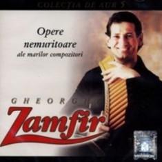 Gheorghe Zamfir - Opere Nemuritoare - Muzica Populara a&a records romania, CD