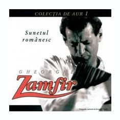 Gheorghe Zamfir - Sunetul Romanesc - Muzica Populara a&a records romania, CD