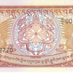 Bancnota Bhutan 5 Ngultrum (1990) - P14b UNC