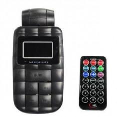 Modulator fm mp3 auto cu telecomanda fm car transmitter - Modulator FM auto