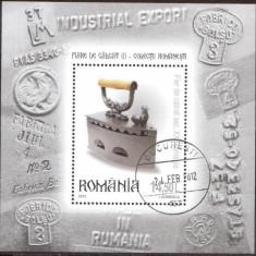 Romania 2012 - LP 1934 Fiare De Calcat Colita stampilata - Timbre Romania