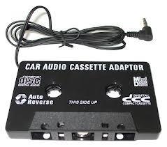 Caseta adaptoare auto cu mufa jack pentru casetofon MP3, Telefon, DVD, Ipod etc. adaptor caseta audio Nou! foto mare