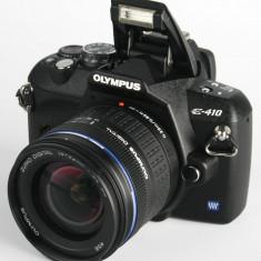 OLYMPUS e410 + blitz yn460 +2 obiective - DSLR Olympus, Kit (cu obiectiv), 10 Mpx, HD