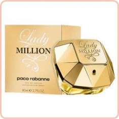PARFUM Lady Million - Parfum femeie Paco Rabanne, Apa de parfum, 80 ml