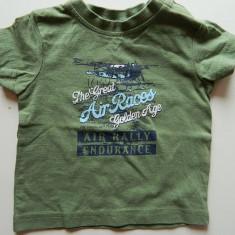Tricou pentru copii, marimea 62/68 cm, pentru 6 luni, marca C&A, REDUS ACUM!, Culoare: Verde