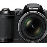 Nikon Coolpix l 310 - Aparat Foto compact Nikon, Bridge, 14 Mpx, Peste 20x, 3.0 inch