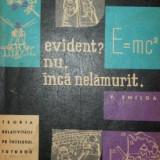 Evident? nu, inca nelamurit _ Teoria relativitatii pe intelesul tuturor - V. Smilga - Carte Fizica