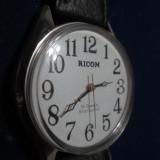 Ricom-ceas mecanic 19 rubine functional, shockproof, stare foarte buna, nepurtat. - Ceas barbatesc