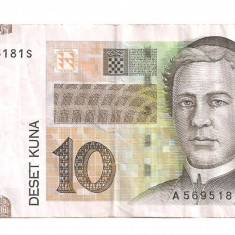 Croatia 10 kuna 2001 F