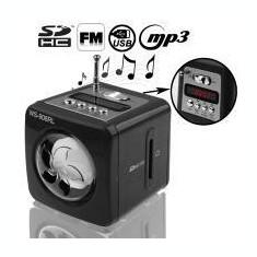 MINI BOXA MP3 CU RADIO-AFISAJ LCD CU SLOT USB/CARD SI ACUMULATOR NOKIA BL-5C - Aparat radio