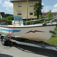 Vind barca Gabbiannella 520 cu motor 25cp in doi timpi - Barca cu motor, An fabricatie: 1992, Exterior, Benzina, Numar motoare: 1, Fibra de sticla