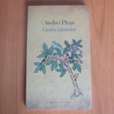 D4 Limba pasarilor - Andrei Plesu - Filosofie