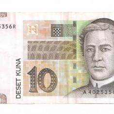 Croatia 10 kuna 2001 VF