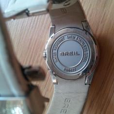 Ceas Breil Original - Ceas dama Sector, Elegant, Quartz, Inox, Piele, Alarma