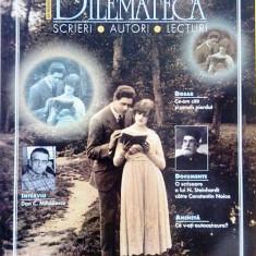 DILEMATECA, AN 1, NR 1, MAI 2006, PRIMUL NUMAR DE APARITIE, Pt COLECTIONARI, X