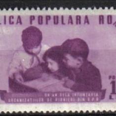 RRR 1 AN DE LA INFIINTAREA ORG DE PIONERI LP. 265 MNH LUX - Timbre Romania