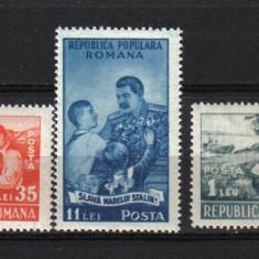 RRR PIONERI LP. 279 MNH LUX - Timbre Romania
