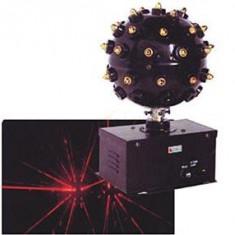 GLOB LASER PT.DISCO, BAR, PARTY SAU ACASA. UN GLOB LASER CE PRODUCE MII DE PUNCTE SI RAZE LASER! SUPER EFECT! - Laser lumini club